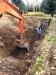 02 Excavating 5'-wide trench 7' deep