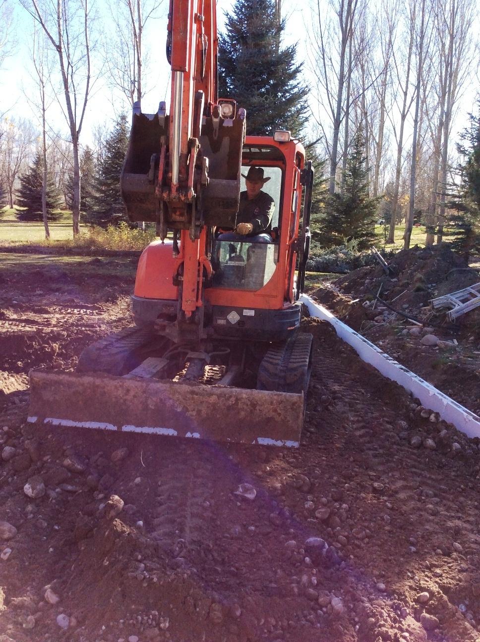 05 Back-filling dirt