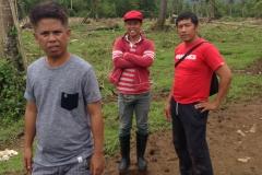 Project leaders - Benjamin Cinco Super, Joselito Bustillo, Foreman, Ramon 2nd project foreman