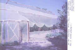 Greenhouse cleanliness procedures & ventilation